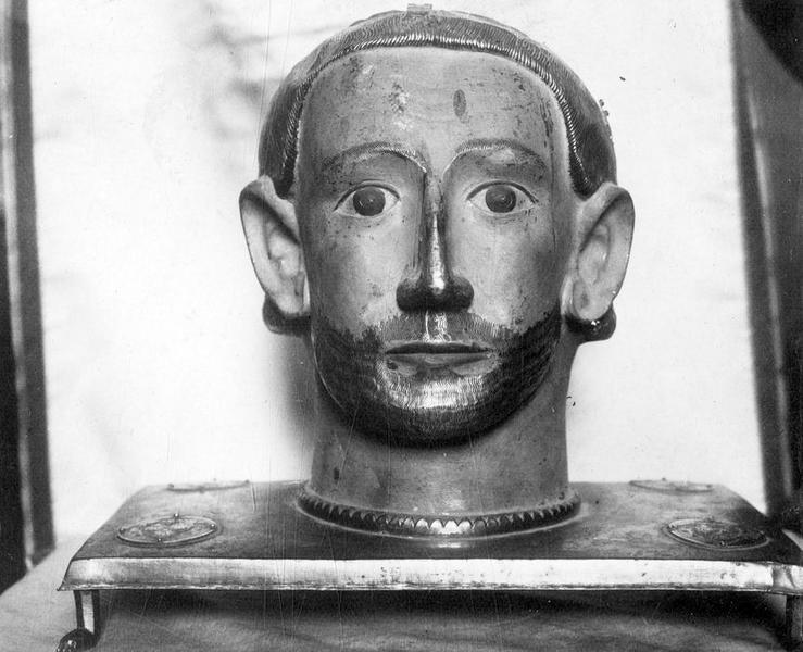 chef-reliquaire de saint Benoît, vue générale