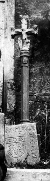 croix de cimetière, vue générale