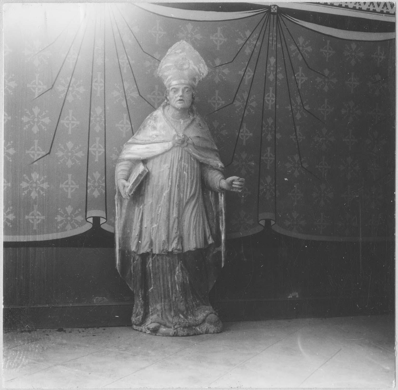 statue : saint Martin de Tours (?) saint Paul de Narbonne (?), vue générale