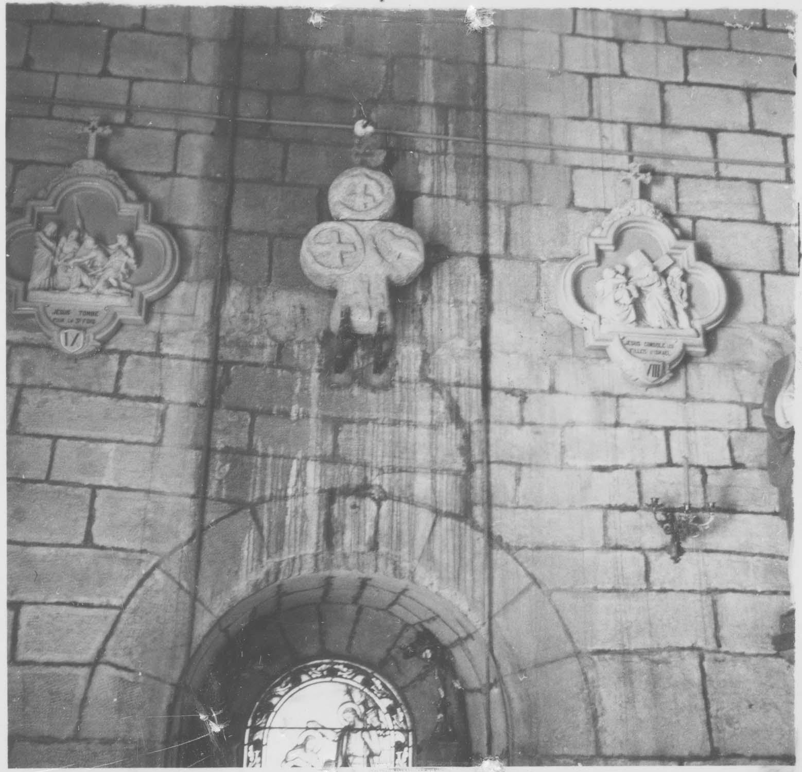 croix funéraire (croix de sépulture), vue générale