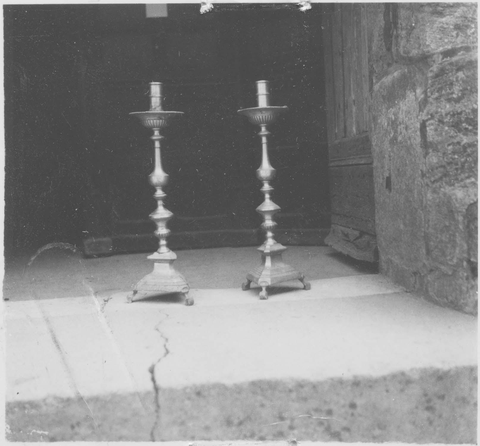 chandeliers (garniture d'autel), vue générale