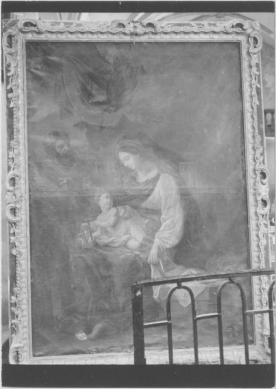 tableau d'autel : La Sainte Famille, cadre, vue générale