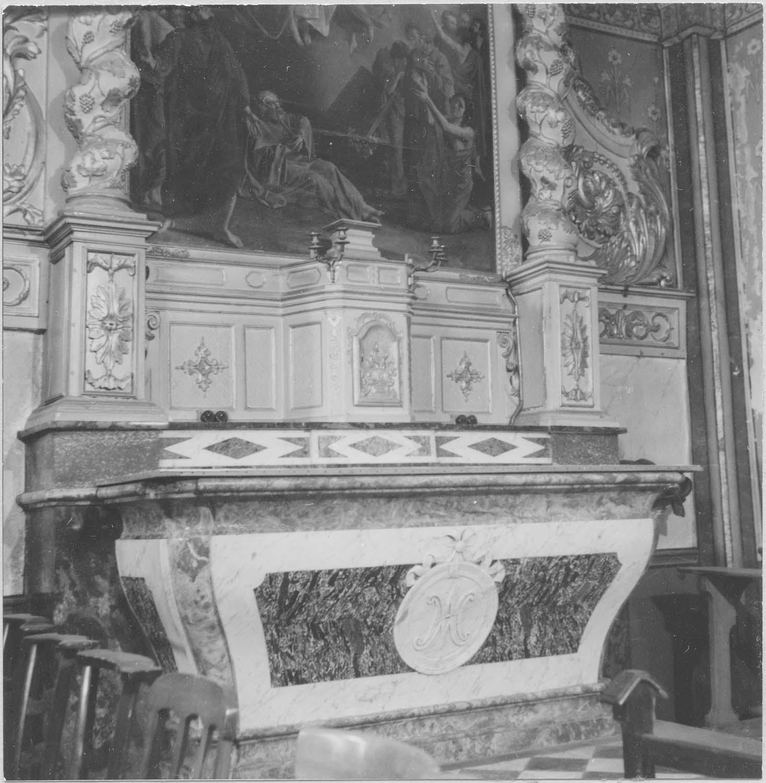 Retable de la chapelle de la Vierge, tableau : L'Assomption de la Vierge