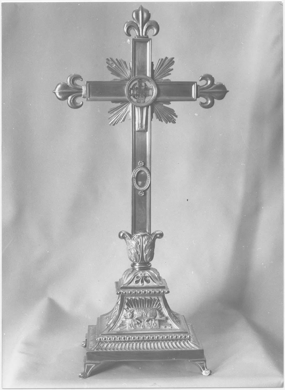 Croix-reliquaire, vue générale