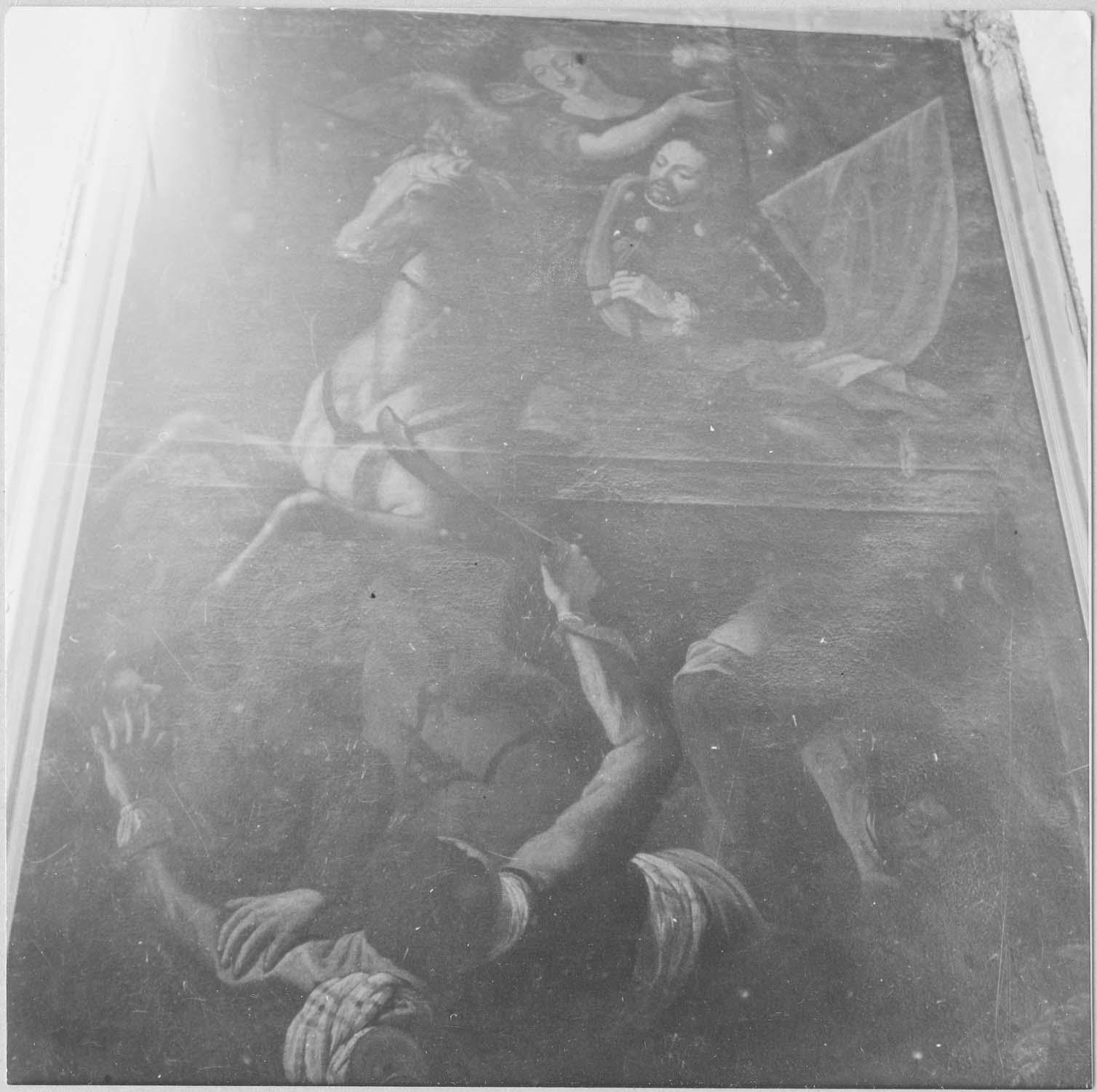 tableau : Saint Jacques vainqueur des Maures, vue générale
