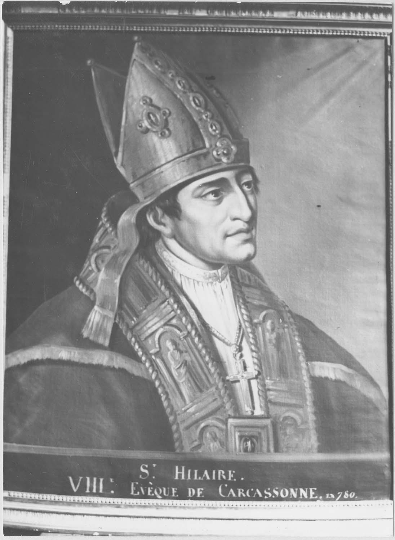 Tableau : saint Hilaire, évêque de Carcassonne, vue générale