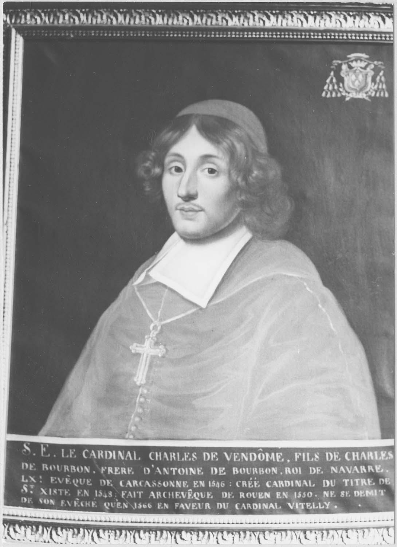 Tableau : Charles de Vendôme, évêque de Carcassonne, vue générale