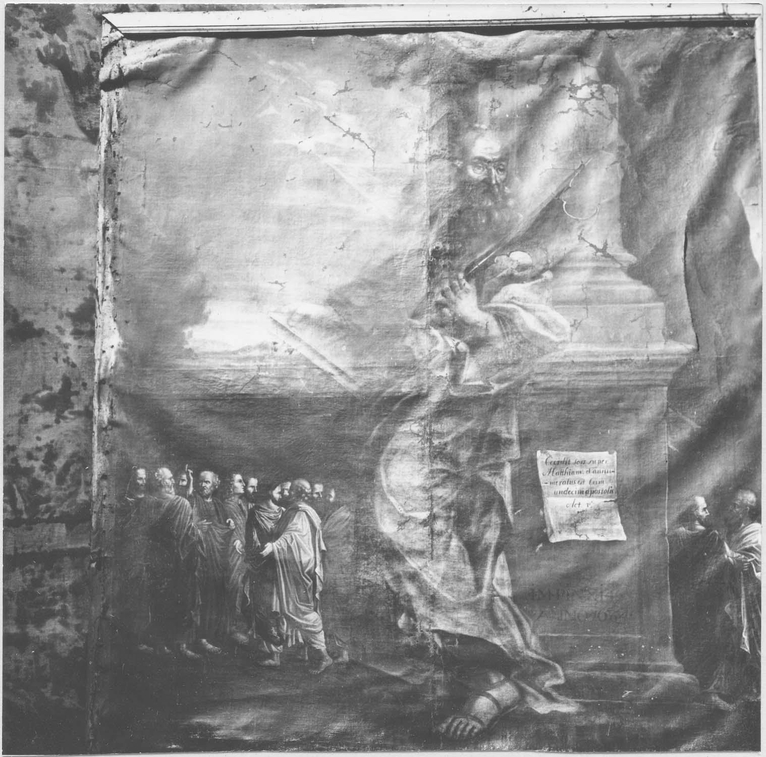 Tableau : Saint Matthias