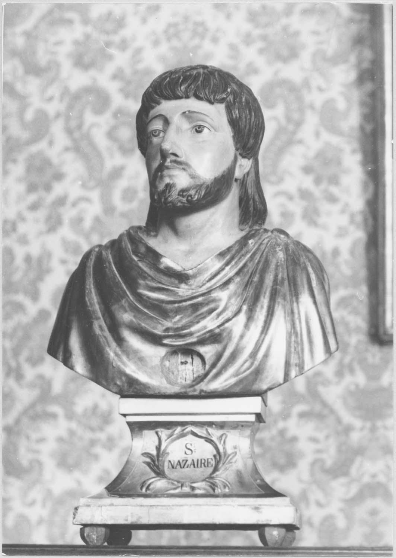 2 bustes-reliquaires de saint Nazaire et de saint Celse