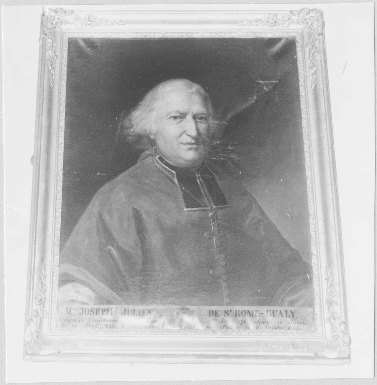 Tableau : Monseigneur Joseph-Julien de Saint-Rome-Gualy, évêque de Carcassonne