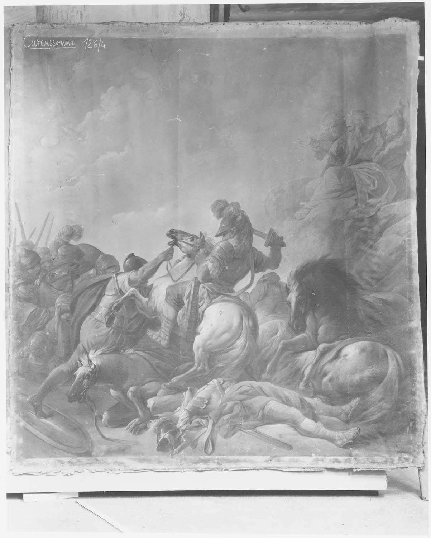 Tableau : Prière de Moïse à la bataille de Raphidim, vue générale