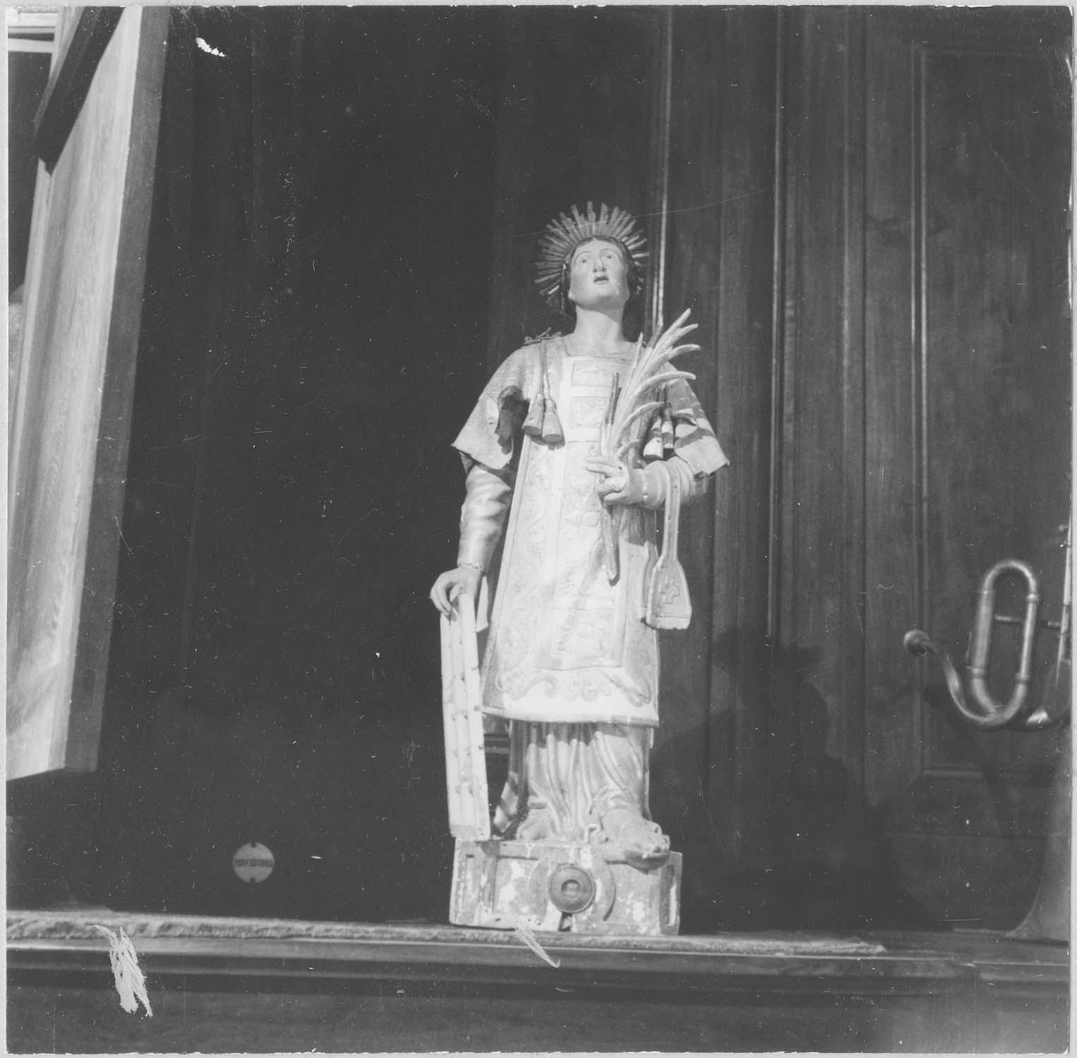 reliquaire de saint Laurent, vue générale