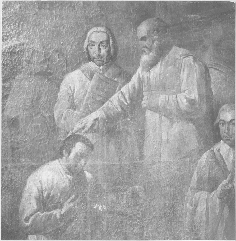 2 tableaux : L'Ordination de saint Vincent, La Prédication de saint Vincent devant l'évêque Valère