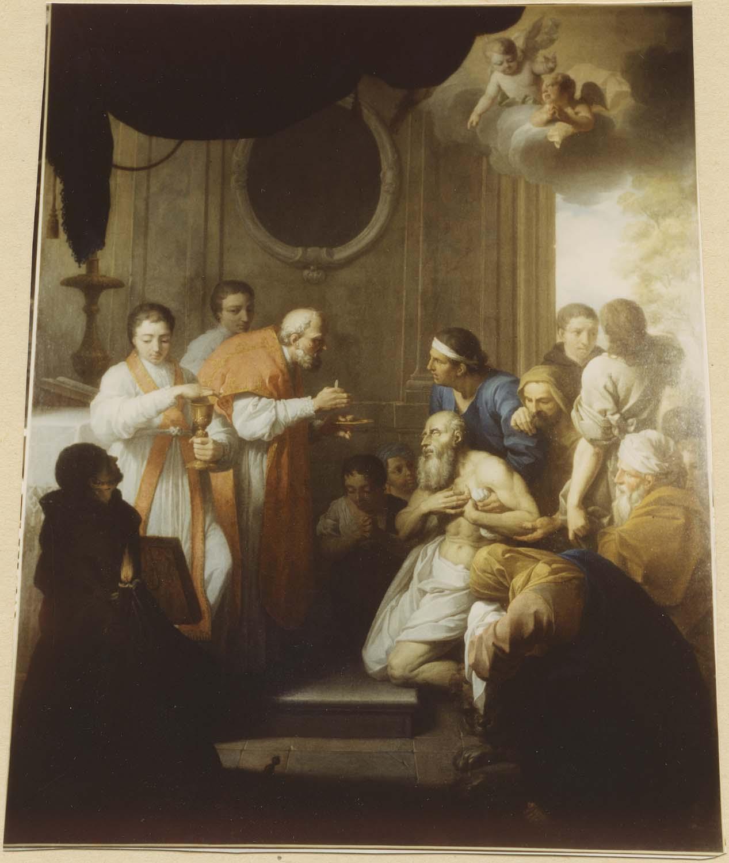 Tableau : La Communion de saint Jérôme