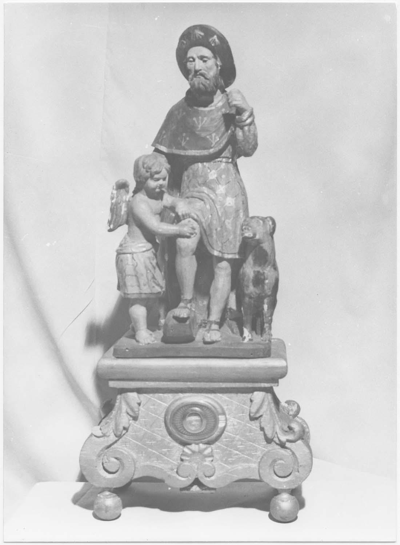 Statuette-reliquaire de saint Roch
