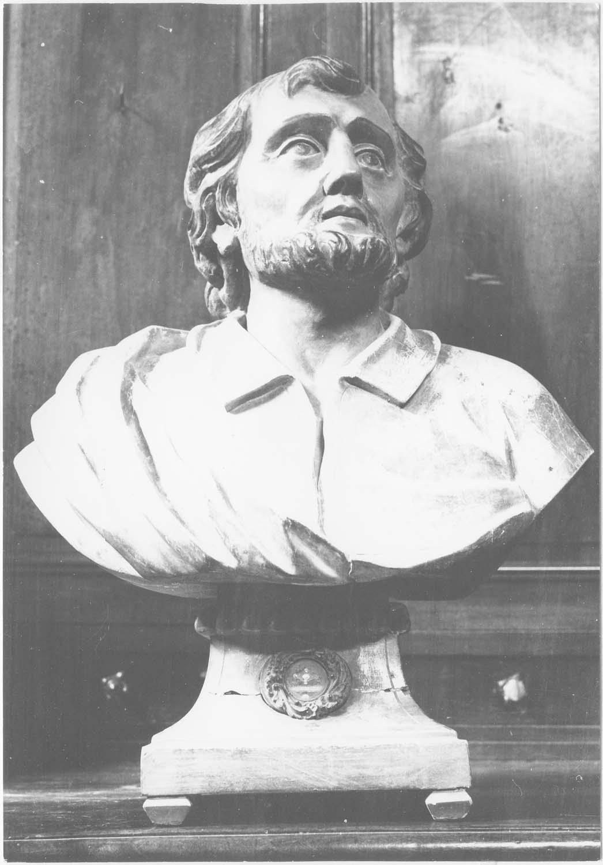 5 bustes-reliquaires de saint André, saint Blaise, sainte Gertrude, saint Jean-Baptiste, saint Jacques