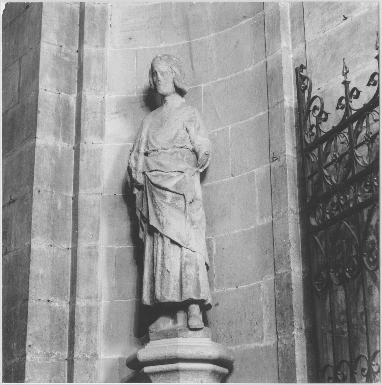 Statue : Saint Louis, vue générale