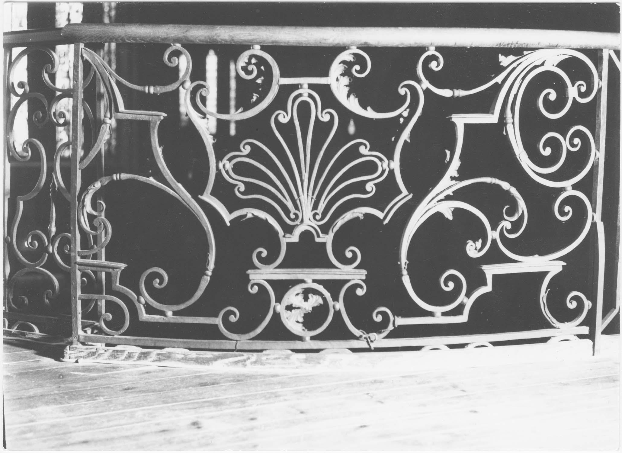 Garde-corps de la tribune d'orgue (grille)