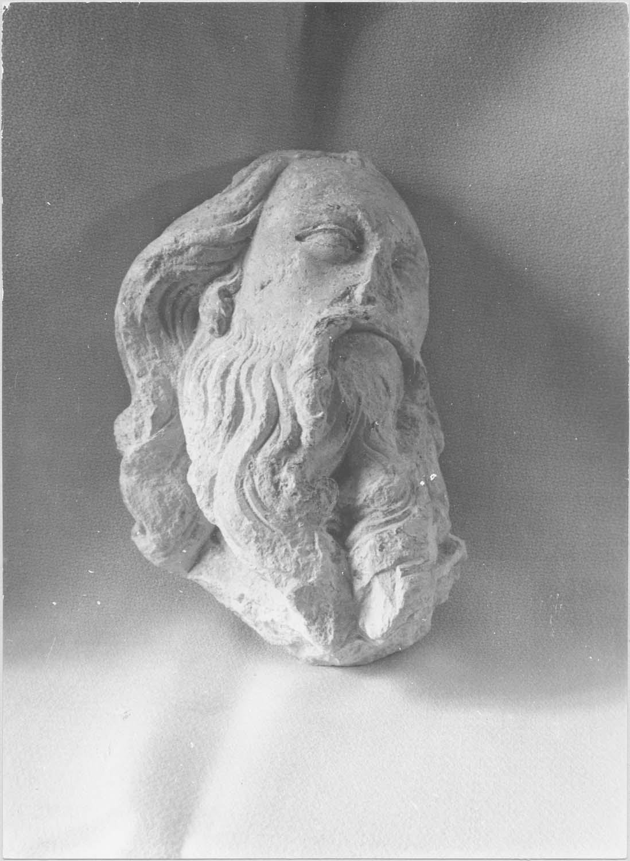 statue (tête) : Homme, vue générale