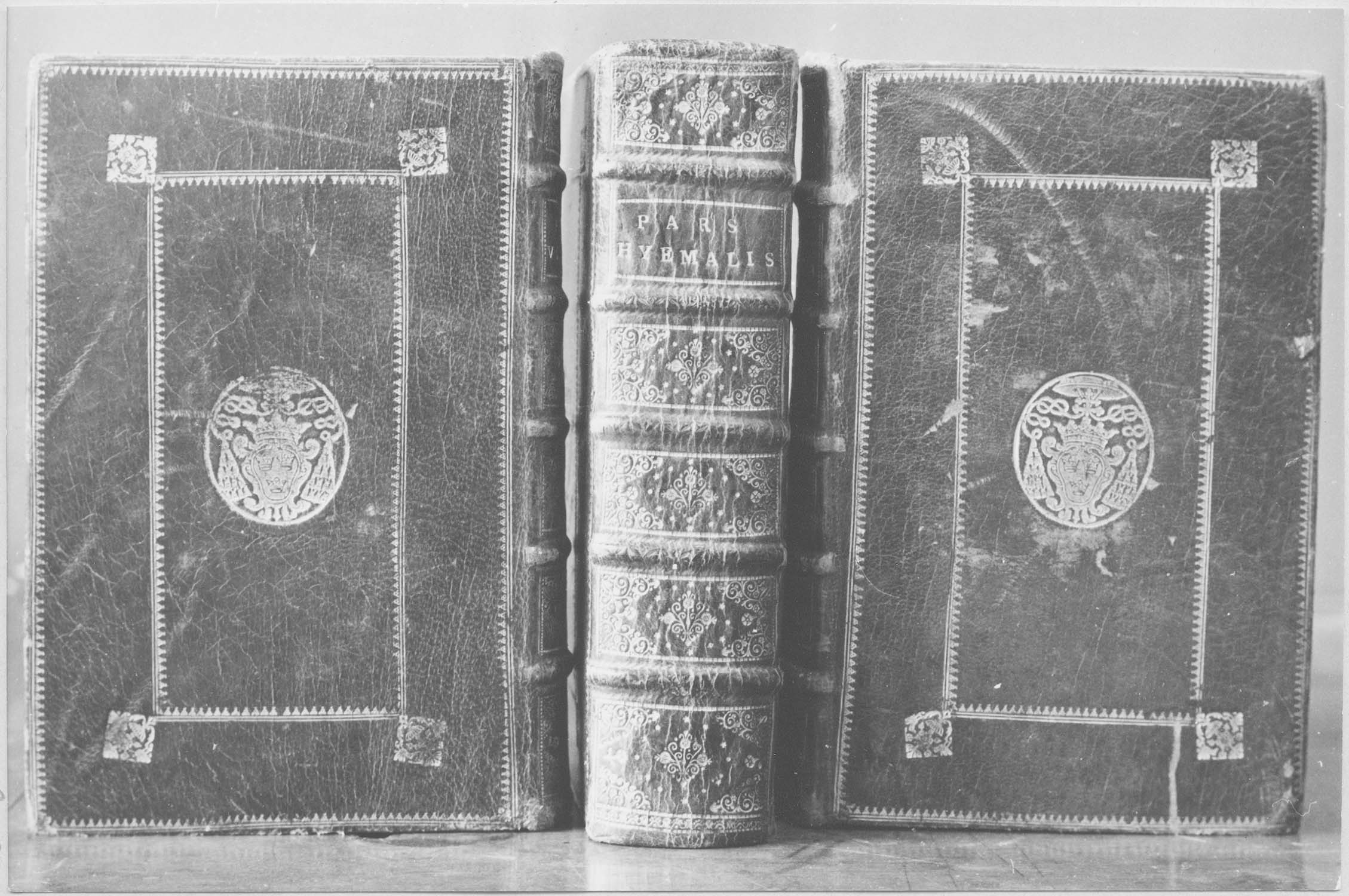 livre liturgique : bréviaire, vue générale de la reliure