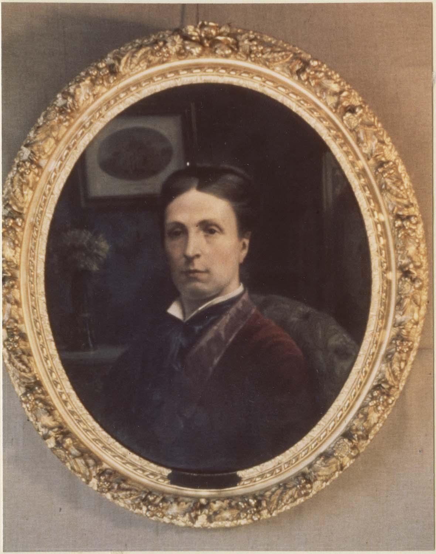 Tableau : Madame Léon Sicard, née Fedou, cadre
