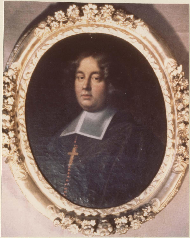 Tableau : Louis Joseph Adheimar de Monteil de Grignan, évêque de Carcassonne, cadre