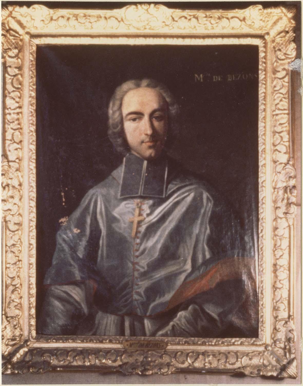 Tableau : Armand Bazin de Bezons, évêque de Carcassonne, cadre