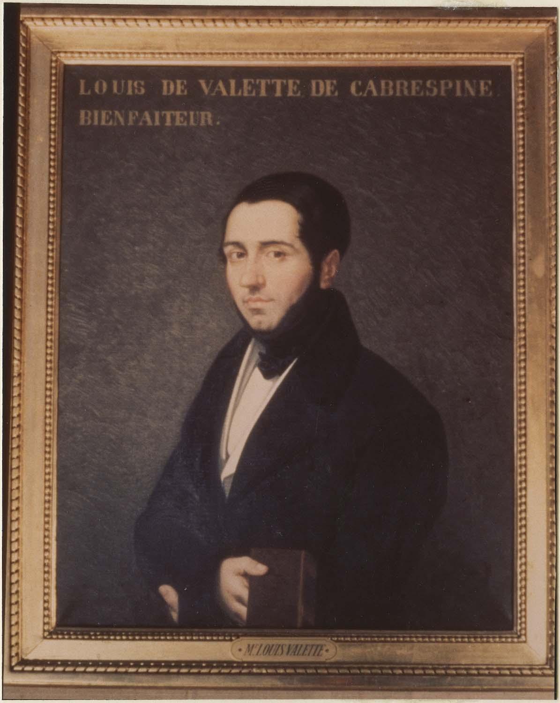 Tableau : Louis de Valette de Cabrespine, bienfaiteur, cadre