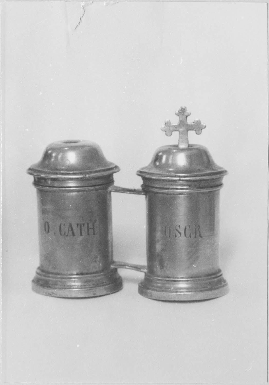 ampoules aux saintes huiles (chrémeau)