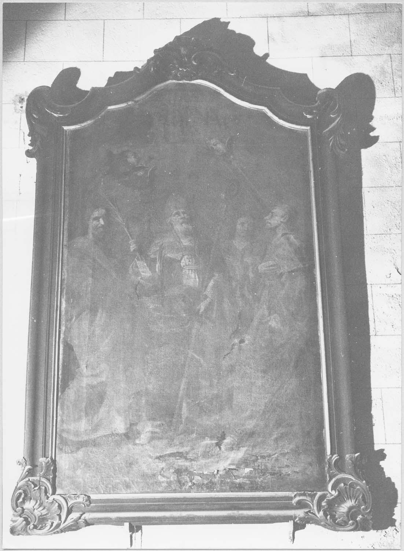 tableau : Les Martyrs de Caunes, cadre