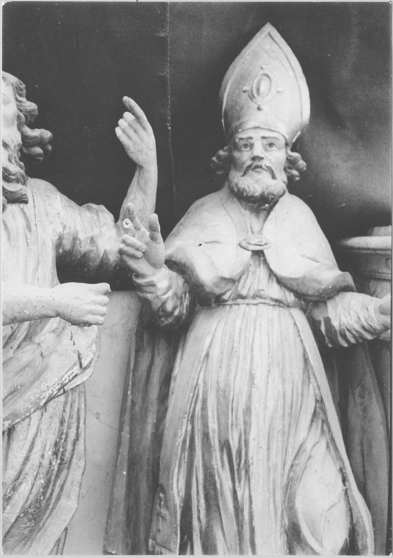 statue : saint Ambroise