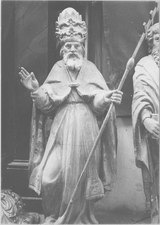 statue : saint Grégoire