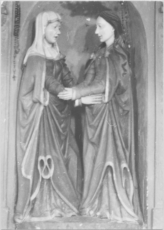 groupe sculpté : La Visitation