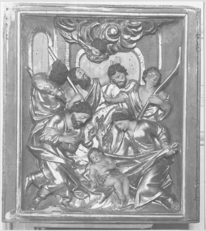 relief (panneau sculpté) : La Nativité