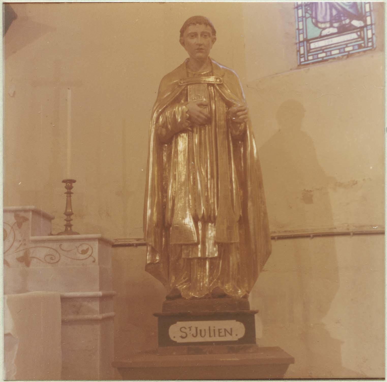 statue : saint Julien