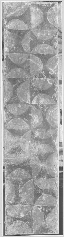 peinture monumentale (fragment) déposée