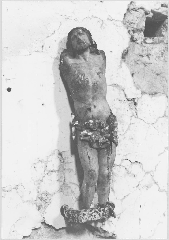 statue (fragment) : Christ