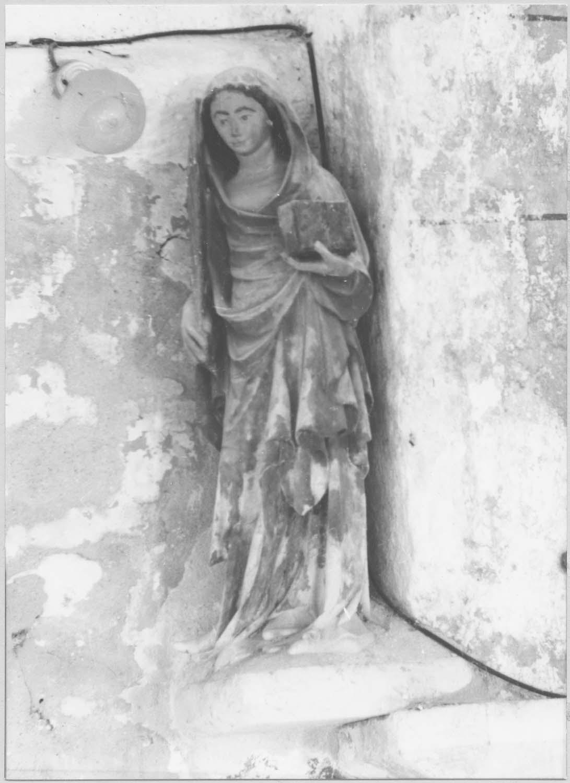 statue : sainte Léocadie (?)