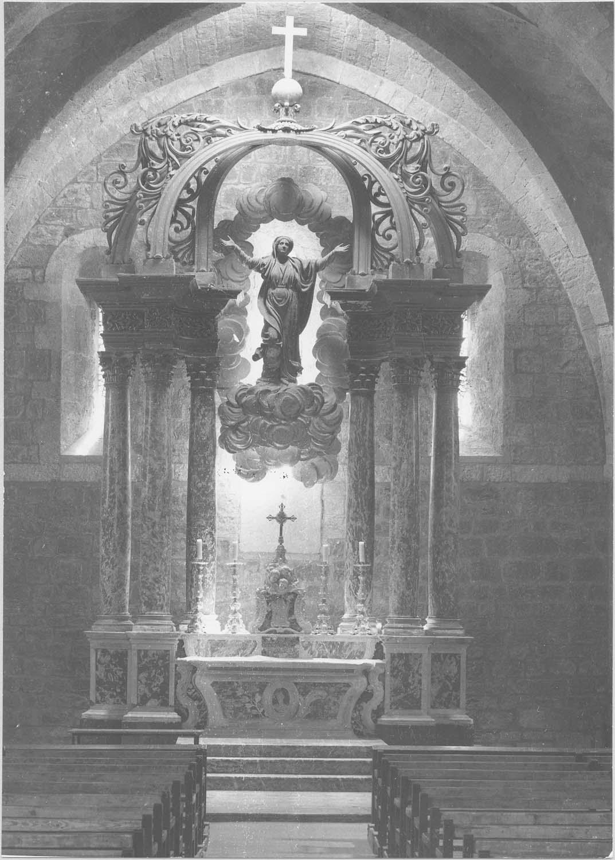 autel, tabernacle, retable, statue: L'Assomption de la Vierge (maître-autel)