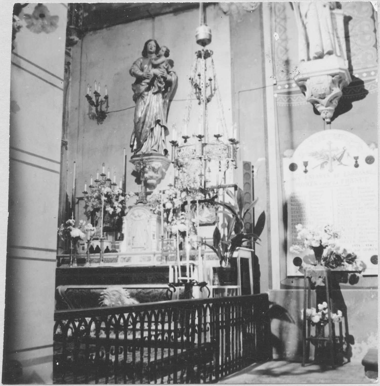 retable de la Sainte Vierge