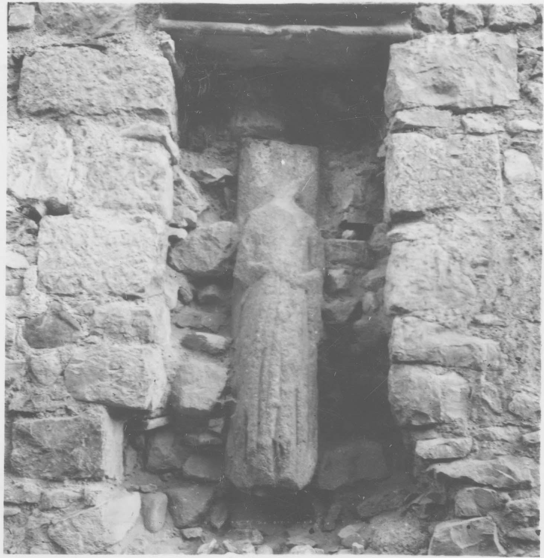 fragment de statue-colonne
