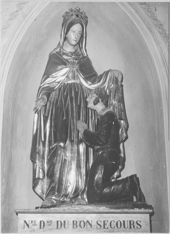 groupe sculpté : Notre-Dame de Bon Secours