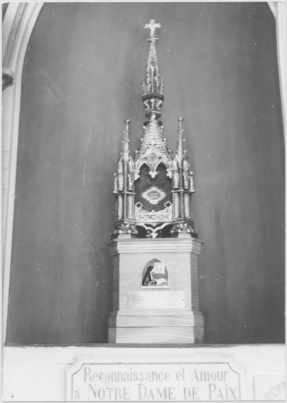 reliquaire ex-voto néo-gothique de la Bienheureuse Marie-Thérèse de Soubiran