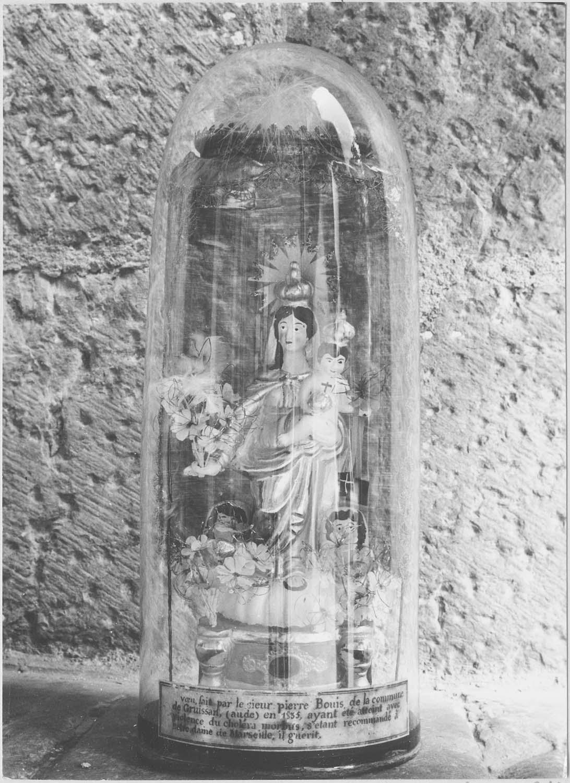 statuette ex-voto : Vierge à l'Enfant