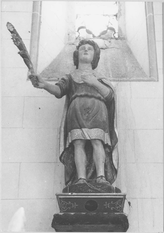 statuette-reliquaire de saint Innocent