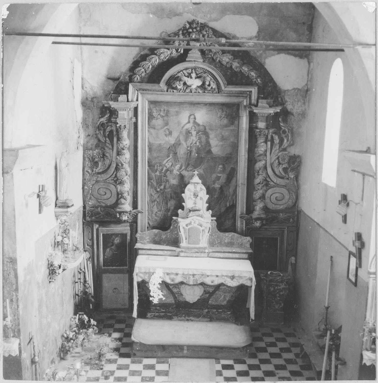 autel, retable, tableau (maître-autel)