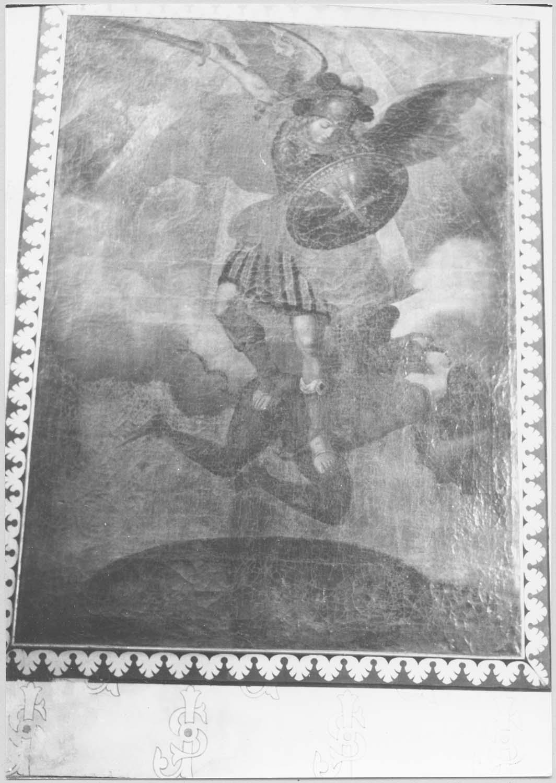 tableau : saint Michel terrassant le démon