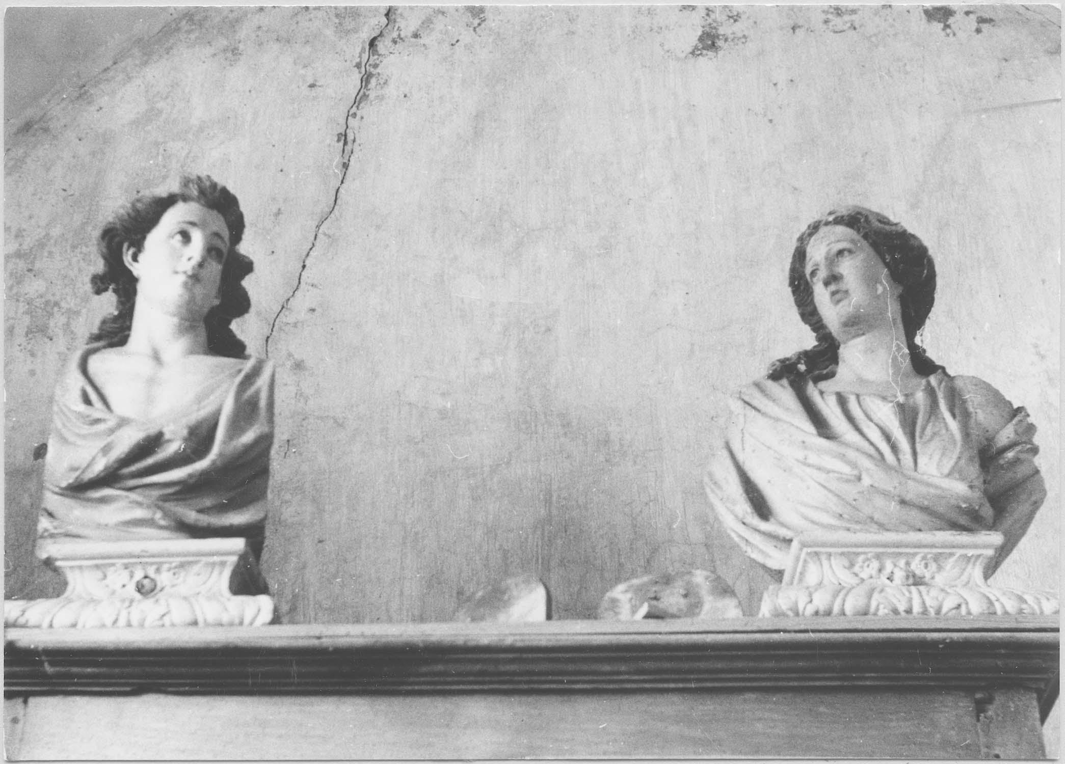 bustes-reliquaires de saint Julien et de sainte Basilisse