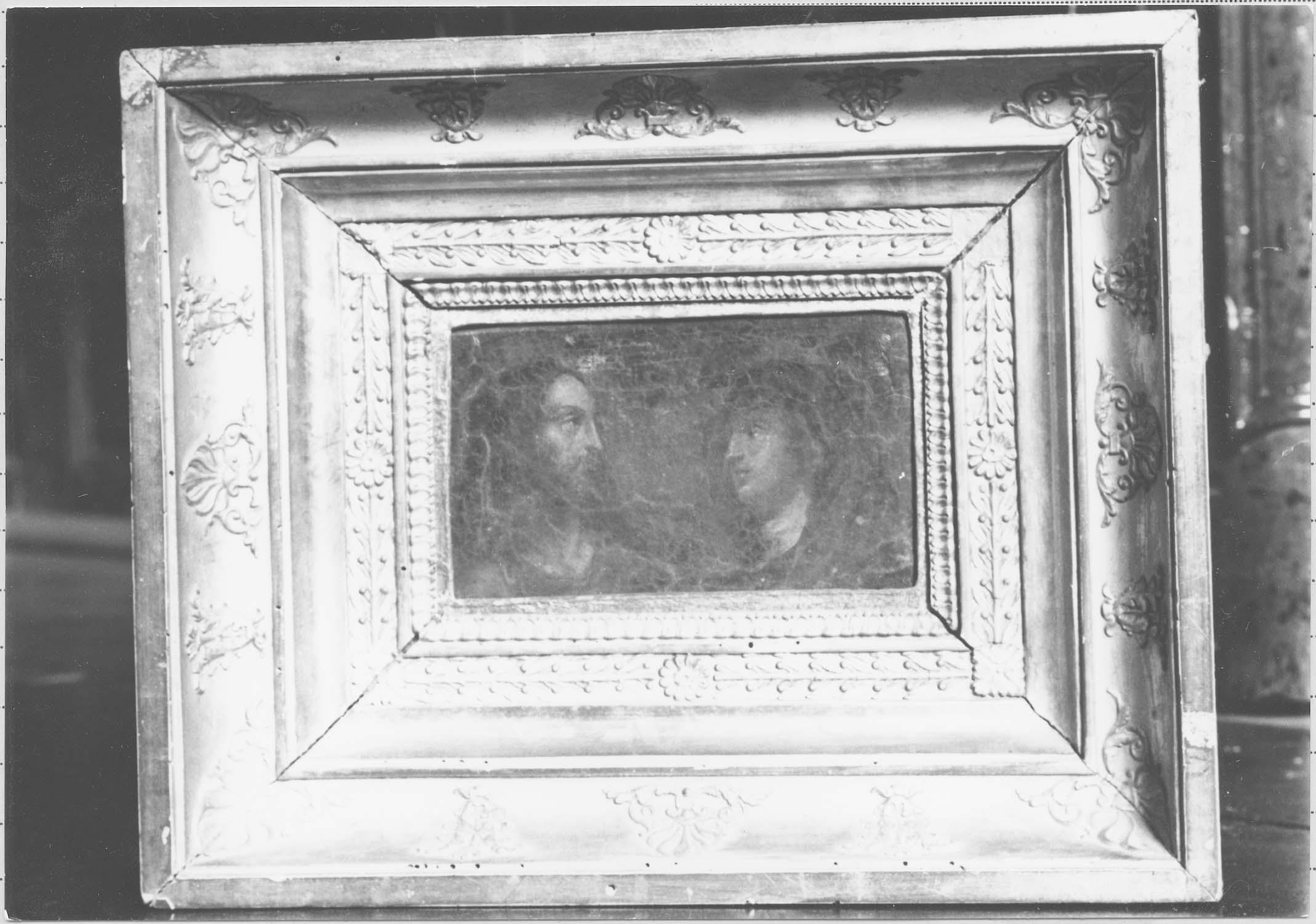 peinture : La Christ et la Vierge
