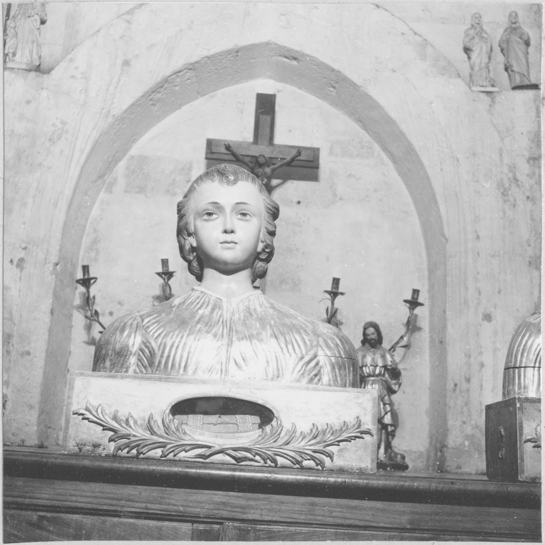 buste-reliquaire de saint Pasteur